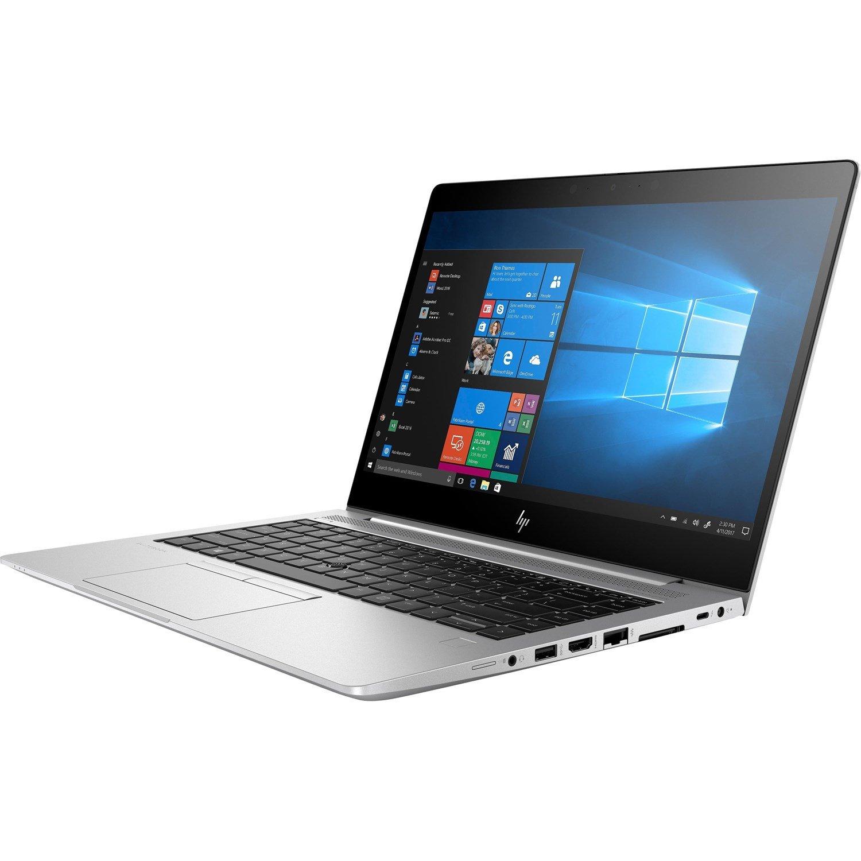 """HP EliteBook 840 G6 35.6 cm (14"""") Notebook - 1920 x 1080 - Intel Core i7 (8th Gen) i7-8565U Quad-core (4 Core) 1.80 GHz - 8 GB RAM - 512 GB SSD - Silver"""