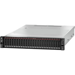 Lenovo ThinkSystem SR650 7X06A0EWAU 2U Rack Server - 1 x Intel Xeon Bronze 3204 1.90 GHz - 16 GB RAM HDD SSD - 12Gb/s SAS, Serial ATA/600 Controller
