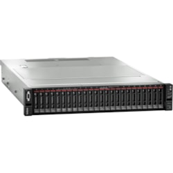 Lenovo ThinkSystem SR650 7X06A0EZAU 2U Rack Server - 1 x Intel Xeon Silver 4208 2.10 GHz - 16 GB RAM HDD SSD - 12Gb/s SAS, Serial ATA/600 Controller