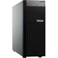 Lenovo ThinkSystem ST250 7Y45A01PAU 4U Tower Server - 1 x Intel Xeon E-2144G 3.60 GHz - 16 GB RAM HDD SSD - Serial ATA/600 Controller