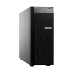 Lenovo ThinkSystem ST250 7Y45A04AAU 4U Tower Server - 1 x Intel Xeon E-2246G 3.60 GHz - 16 GB RAM HDD SSD - Serial ATA/600, 12Gb/s SAS Controller