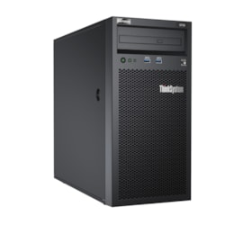 Lenovo ThinkSystem ST50 7Y48A02WAU 4U Tower Server - 1 x Intel Xeon E-2246G 3.60 GHz - 16 GB RAM HDD SSD - Serial ATA/600 Controller