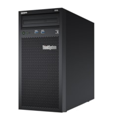 Lenovo ThinkSystem ST50 7Y49A01PAU 4U Tower Server - 1 x Intel Xeon E-2144G 3.60 GHz - 8 GB RAM HDD SSD - Serial ATA/600 Controller