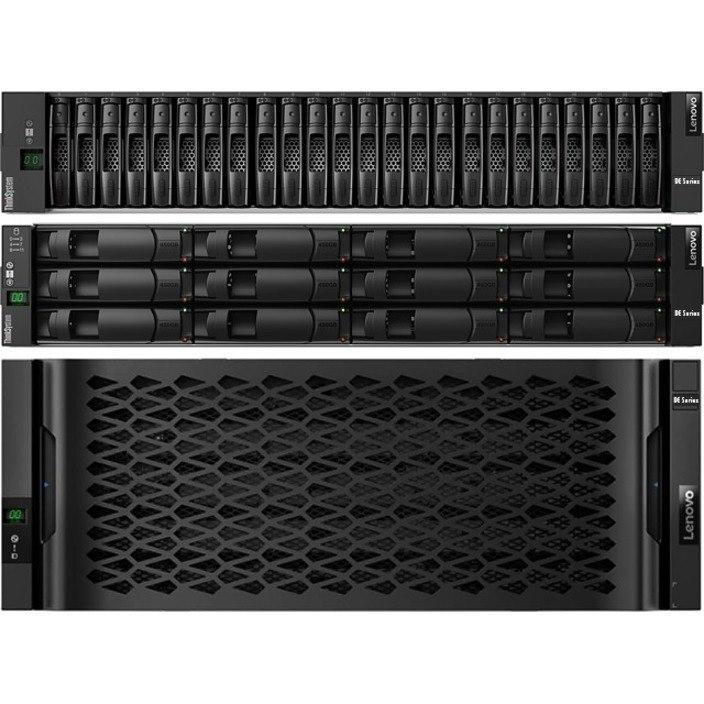 Lenovo DE120S Drive Enclosure - 12Gb/s SAS Host Interface - 2U Rack-mountable