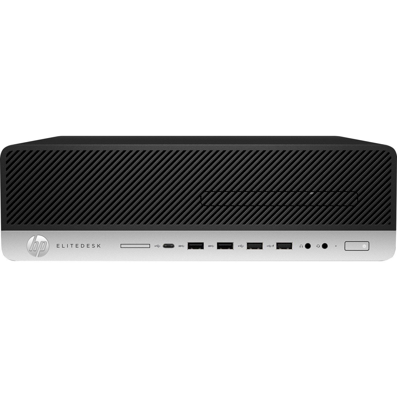 HP EliteDesk 800 G5 Desktop Computer - Intel Core i5 9th Gen i5-9500 3 GHz - 8 GB RAM DDR4 SDRAM - 256 GB SSD - Small Form Factor