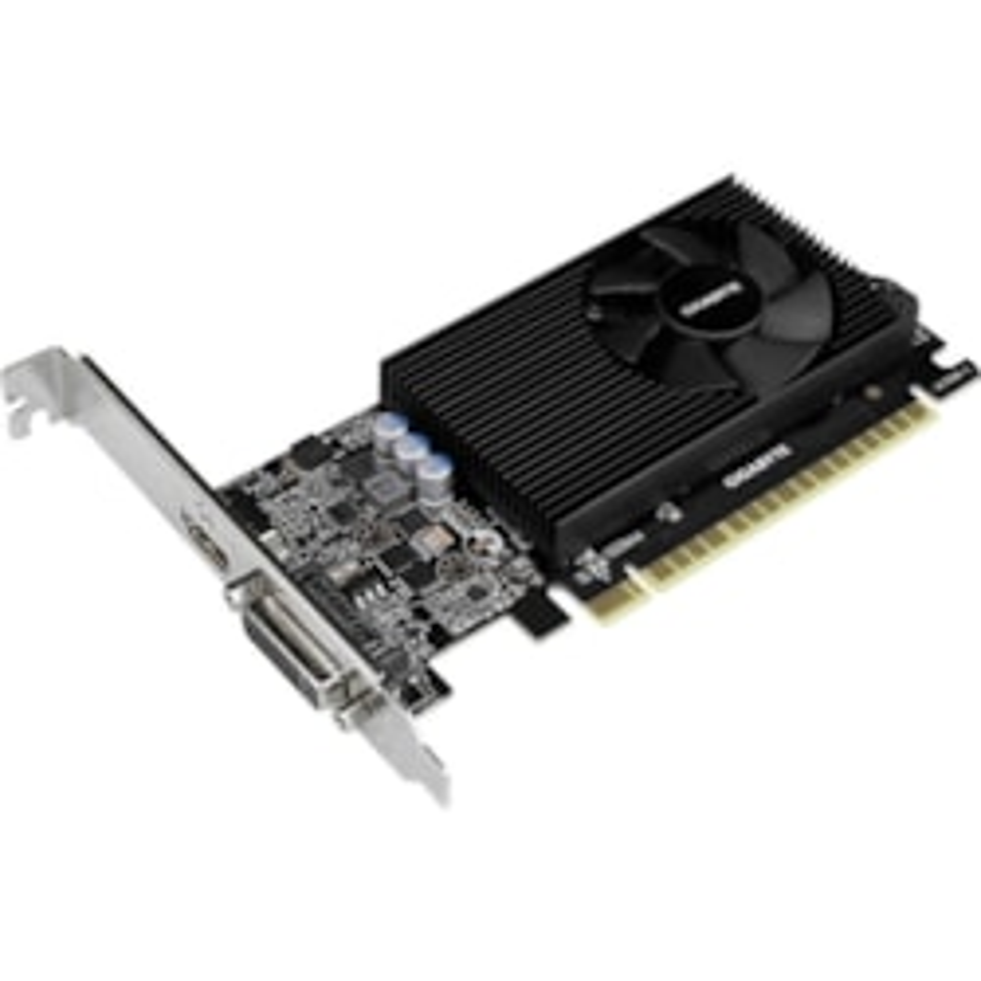 Gigabyte NVIDIA GeForce GT 730 Graphic Card - 2 GB GDDR5 - Low-profile