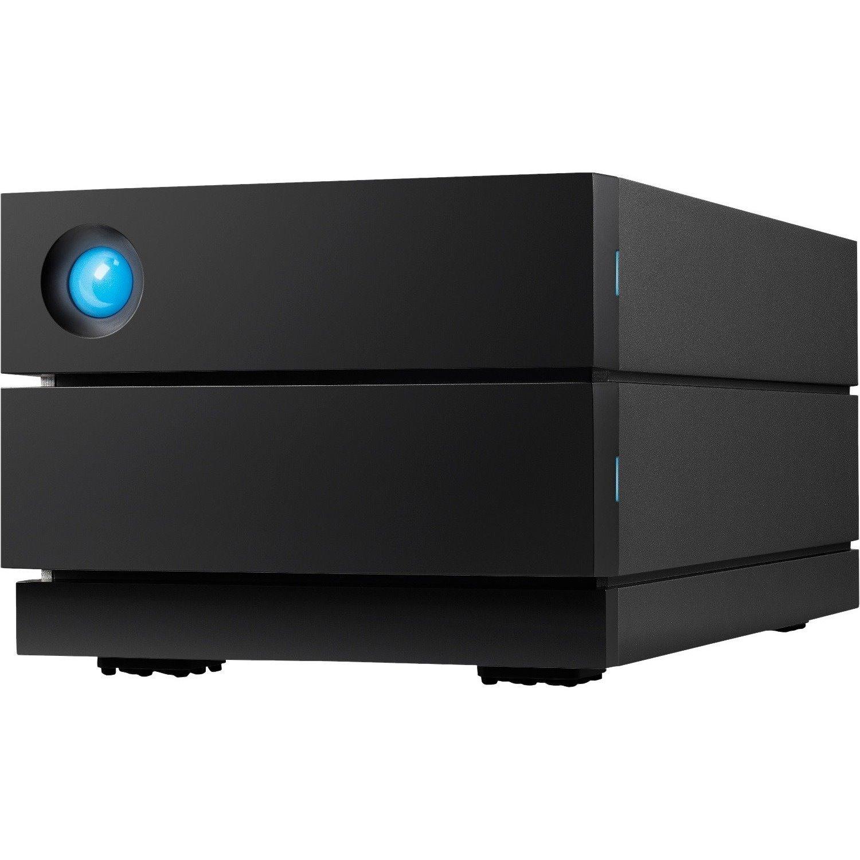 LaCie 2big STHJ4000800 2 x Total Bays DAS Storage System Desktop