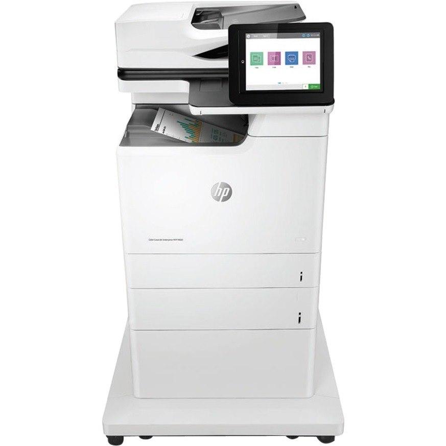 HP LaserJet M681 M681z Laser Multifunction Printer - Colour