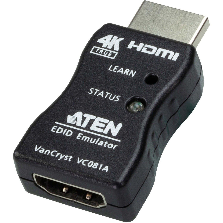 VanCryst True 4K HDMI EDID Emulator Adapter