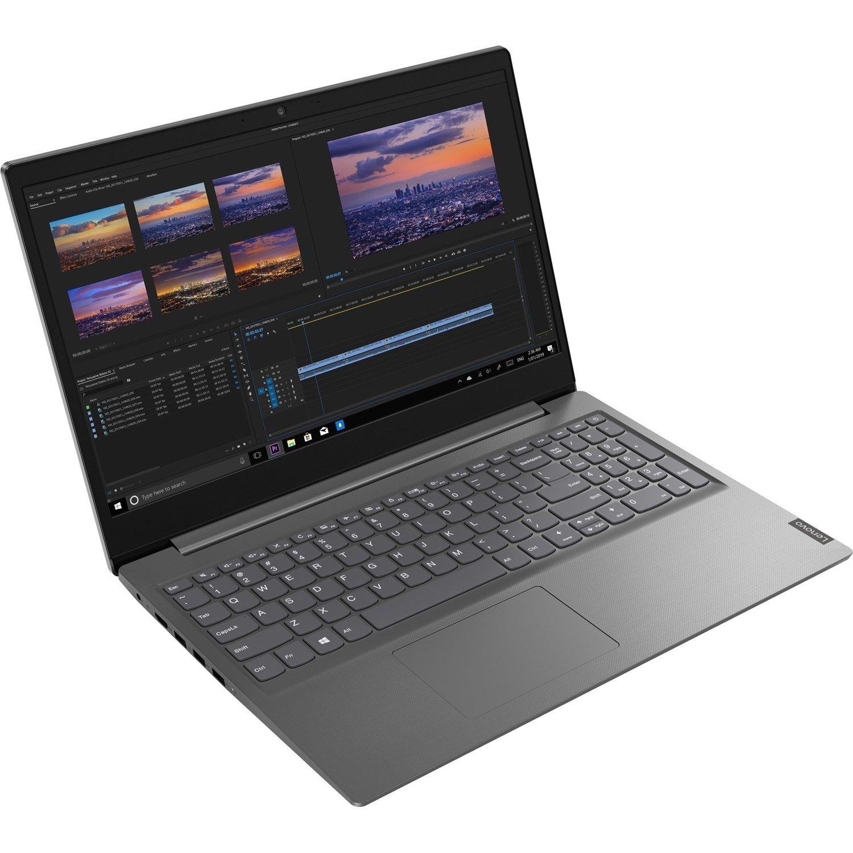 "Lenovo V15-IIL 82C500R9AU 39.6 cm (15.6"") Notebook - Full HD - 1920 x 1080 - Intel Core i5 (10th Gen) i5-1035G1 Quad-core (4 Core) 1 GHz - 8 GB RAM - 256 GB SSD - Textured Iron Gray"