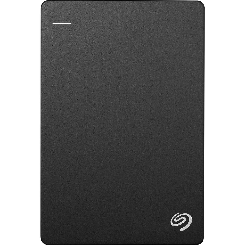 Seagate Backup Plus Slim STHN2000400 2 TB Portable Hard Drive - External - Black