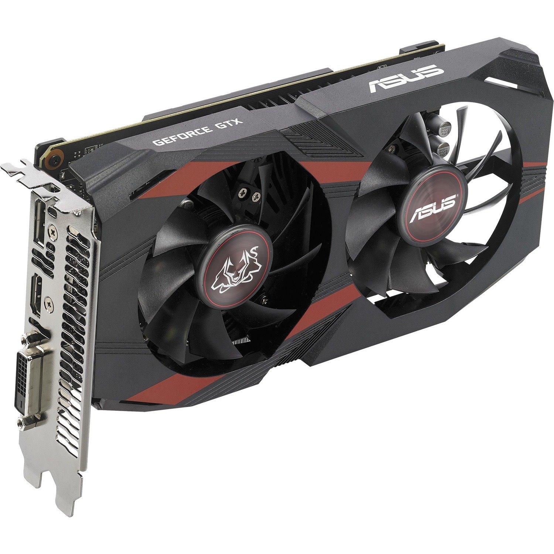 Asus NVIDIA GeForce GTX 1050 Ti Graphic Card - 4 GB GDDR5