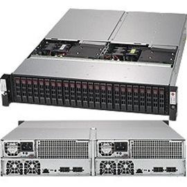 Supermicro SuperStorage Bridge Bay 927R-E2CJB Drive Enclosure - 12Gb/s SAS Host Interface - 2U Rack-mountable - Black