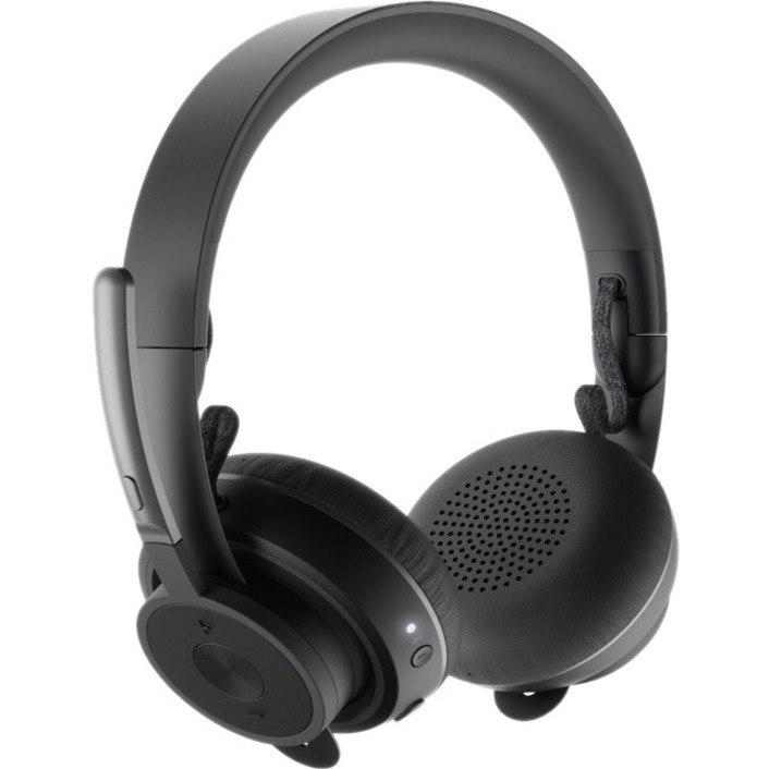 Logitech Zone Wireless Plus Wireless Over-the-head Stereo Headset