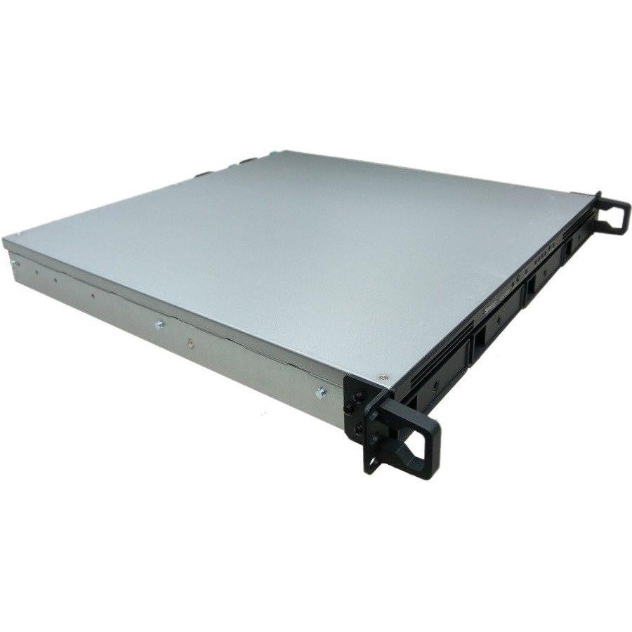 Synology RackStation RS1619XS+ 4 x Total Bays SAN/NAS Storage System - Intel Xeon Quad-core (4 Core) 2.20 GHz - 8 GB RAM - DDR4 SDRAM - 1U Rack-mountable
