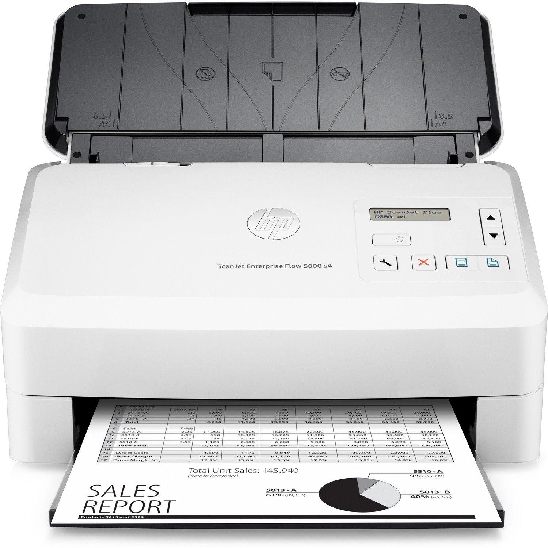 HP Scanjet 5000 s4 Sheetfed Scanner - 600 dpi Optical