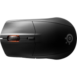 SteelSeries Rival 3 Gaming Mouse - Bluetooth/Radio Frequency - USB - Optical - 6 Button(s) - Black - 1 Pack
