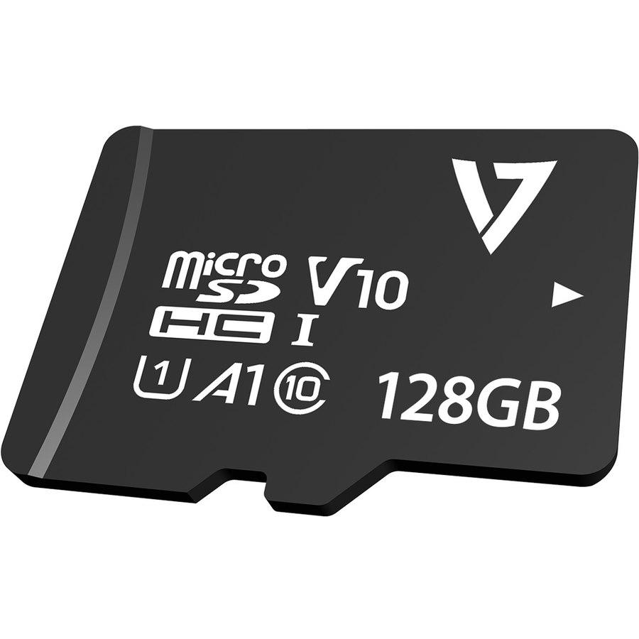 V7 VPMD128GU3 128 GB Class 10/UHS-III (U3) microSDXC