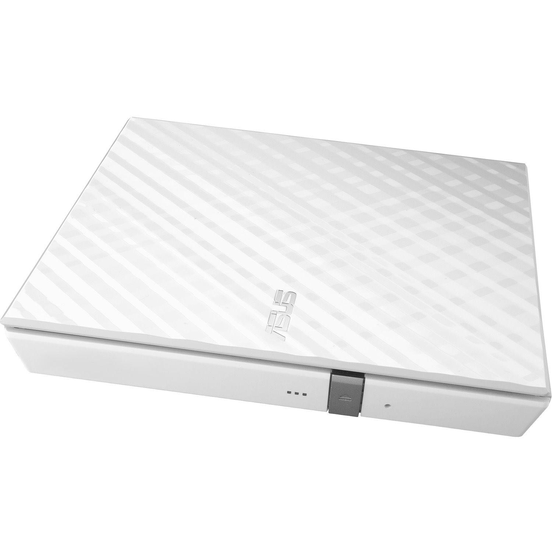 Asus SDRW-08D2S-U DVD-Writer - Retail Pack - White