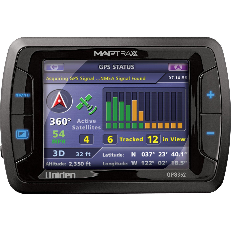 Uniden MAPTRAX GPS352 Automobile Navigator