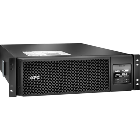 SRT5KRMXLW-HW - APC by Schneider Electric Smart-UPS Online Dual Conversion UPS - 5kVA / 4.5kW, with Hardwired Output Kit   Includes:  + 3 Year Parts Warranty  + Rack mounting kit  + SRT001 Hardwired Output Kit + AP9631 Network management card  + AP9335T Temperature Sensor