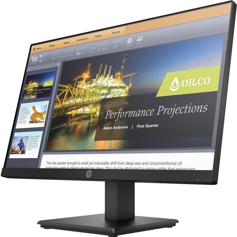 "HP Business P224 54.6 cm (21.5"") Full HD LED LCD Monitor - 16:9 - Black"