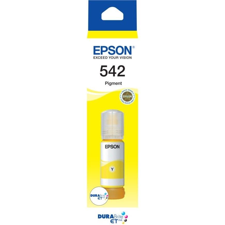 Epson EcoTank T542 Ink Refill Kit - Yellow - Inkjet