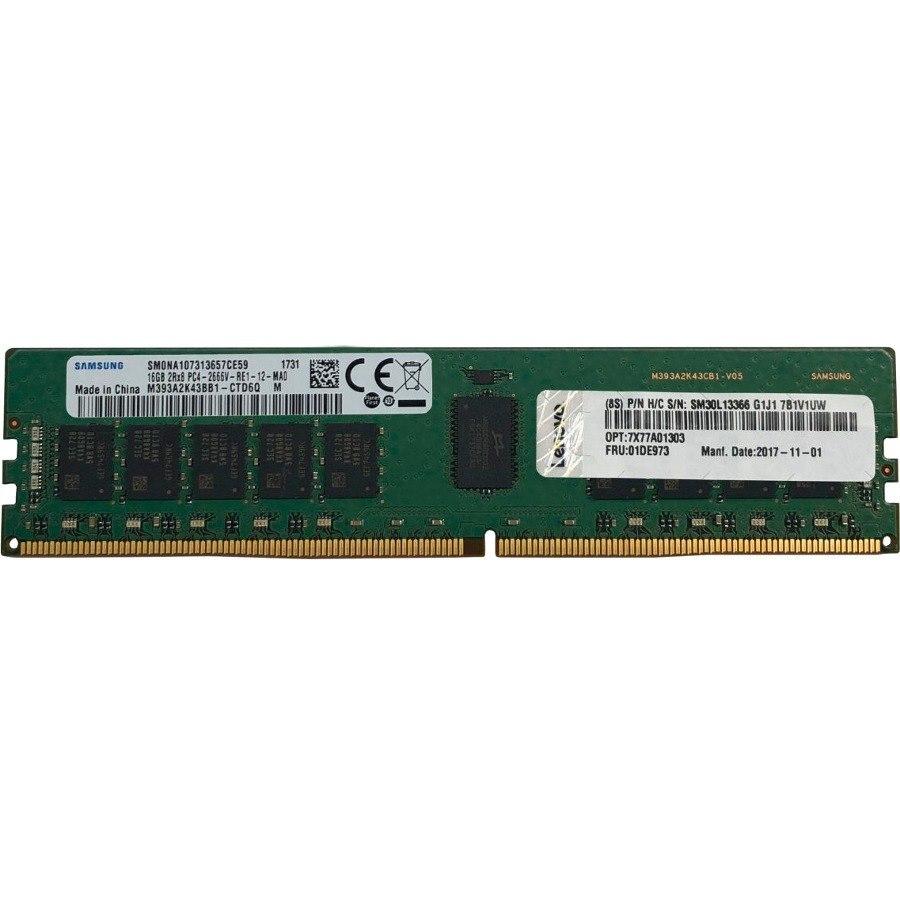 Lenovo ThinkSystem 16GB TruDDR4 2666 MHz (2Rx8 1.2V) RDIMM