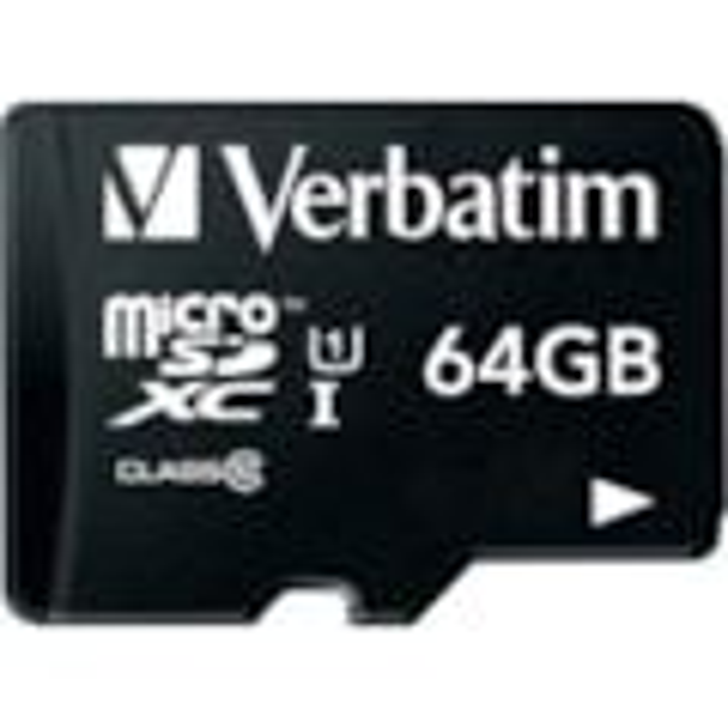 Verbatim Tablet 64 GB Class 10/UHS-I (U1) microSDXC