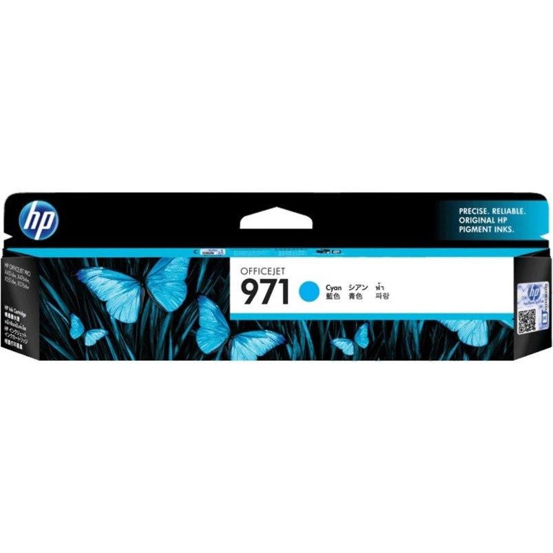 HP 971 Original Ink Cartridge - Cyan