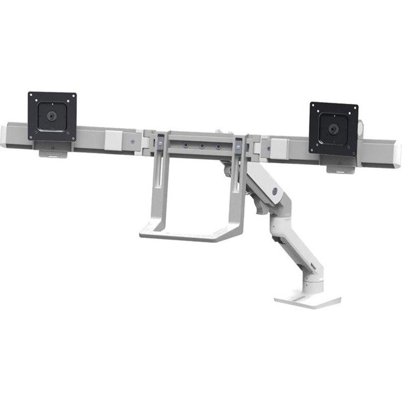 Ergotron Mounting Arm for Monitor, TV - White