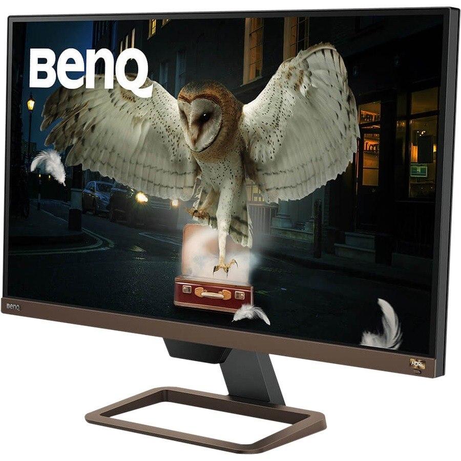 "BenQ Entertainment EW2780U 68.6 cm (27"") 4K UHD LED LCD Monitor - 16:9 - Metallic Brown, Metallic Black"