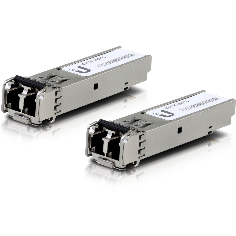 Ubiquiti U Fiber SFP (mini-GBIC) - 1 x LC Duplex 1000Base-X Network