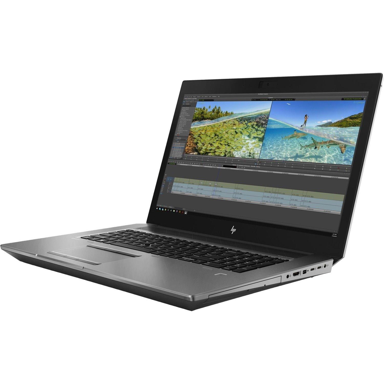 "HP ZBook 17 G6 43.9 cm (17.3"") Mobile Workstation - Full HD - 1920 x 1080 - Intel Xeon (9th Gen) E-2286M Octa-core (8 Core) 2.40 GHz - 64 GB RAM - 2 TB HDD - 1 TB SSD"