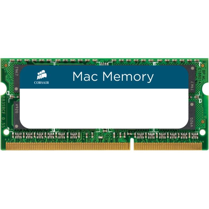 Corsair Mac RAM Module for Notebook, Desktop PC - 8 GB (1 x 8GB) - DDR3-1600/PC3-12800 DDR3 SDRAM - 1600 MHz - CL11 - 1.35 V