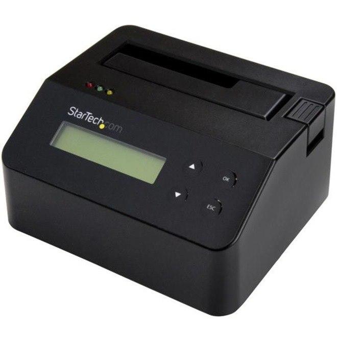 StarTech.com Drive Dock SATA/600 - USB 3.0 Type B Host Interface External - Black - TAA Compliant