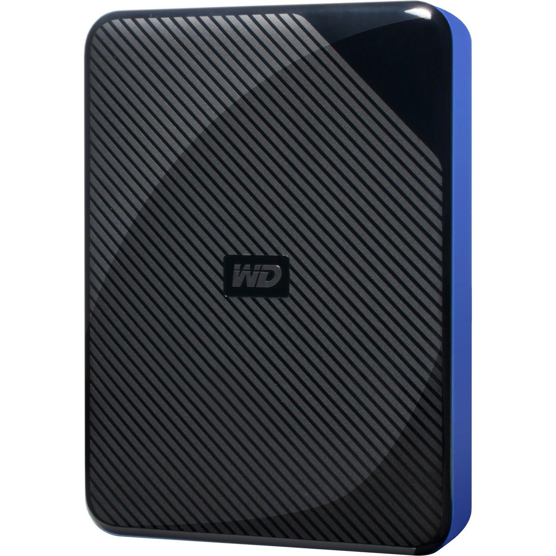 WD WDBM1M0040BBK-WESN 4 TB Portable Hard Drive - External