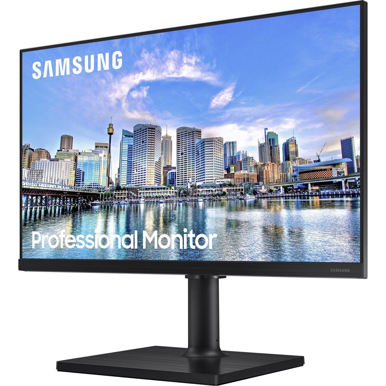 "Samsung F24T450FQE 61 cm (24"") Full HD LED LCD Monitor - 16:9 - Black"