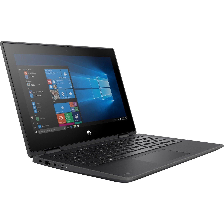 """HP ProBook x360 11 G6 EE 29.5 cm (11.6"""") Touchscreen 2 in 1 Notebook - HD - 1366 x 768 - Intel Core i3 10th Gen i3-10110Y Dual-core (2 Core) 1 GHz - 8 GB RAM - 128 GB SSD - Chalkboard Gray"""