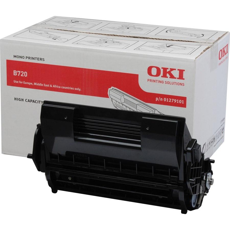 Oki 1279101 Original Toner Cartridge - Black