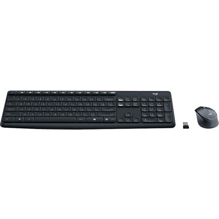 Logitech MK315 QUIET Keyboard & Mouse