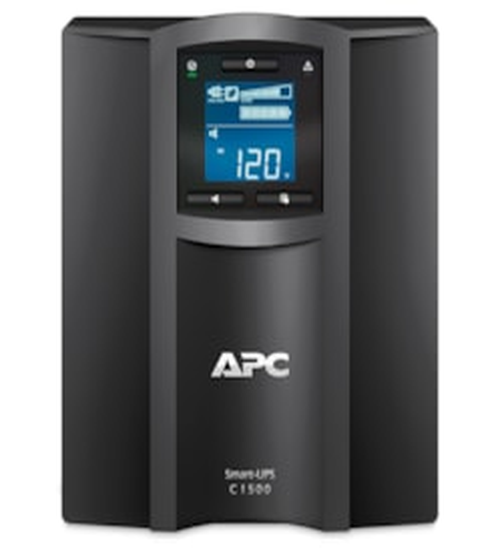 APC by Schneider Electric Smart-UPS Line-interactive UPS - 1.50 kVA/900 W