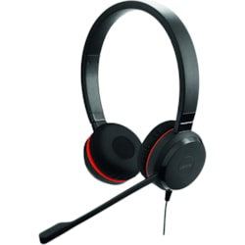 Jabra EVOLVE 30 II UC Stereo Wired Over-the-head Stereo Headset - Black