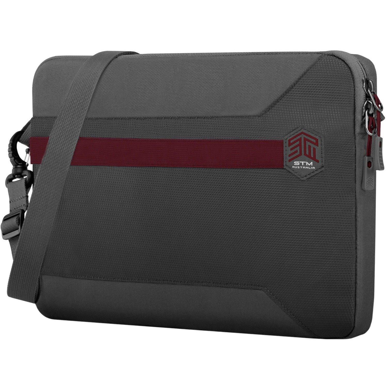 """STM Goods Blazer Carrying Case (Sleeve) for 38.1 cm (15"""") Notebook - Granite Gray"""