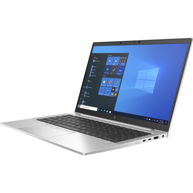 "HP EliteBook 830 G8 33.8 cm (13.3"") Notebook - Full HD - 1920 x 1080 - Intel Core i7 (11th Gen) i7-1165G7 Quad-core (4 Core) 2.80 GHz - 16 GB RAM - 256 GB SSD"