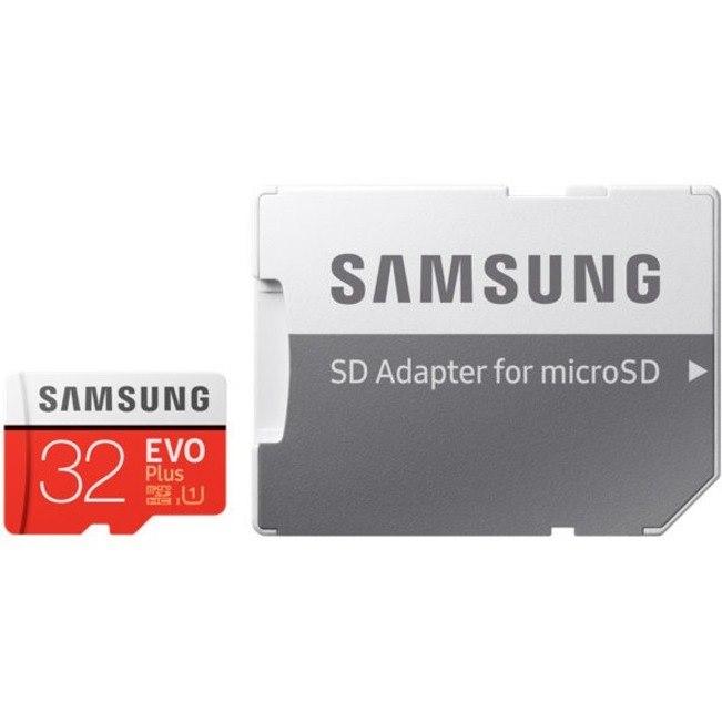 Samsung EVO Plus 32 GB Class 10/UHS-I (U1) microSDHC - 1 Pack
