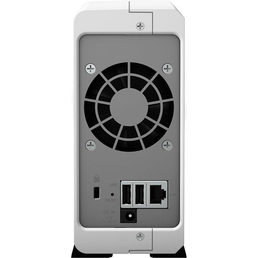 Synology DiskStation DS120j 1 x Total Bays SAN/NAS Storage System - Marvell ARMADA 370 Dual-core (2 Core) 800 MHz - 512 MB RAM - DDR3L SDRAM Desktop