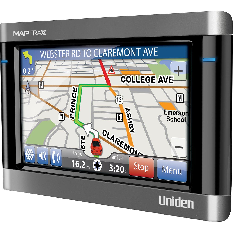 Uniden TRAX436 Automobile Navigator