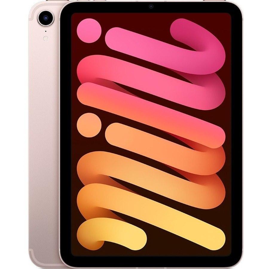 "Apple iPad mini (6th Generation) Tablet - 21.1 cm (8.3"") - Hexa-core (A15 Bionic Dual-core (2 Core) 2.93 GHz Quad-core (4 Core)) - 4 GB RAM - 64 GB Storage - iPadOS 15 - 5G - Pink"