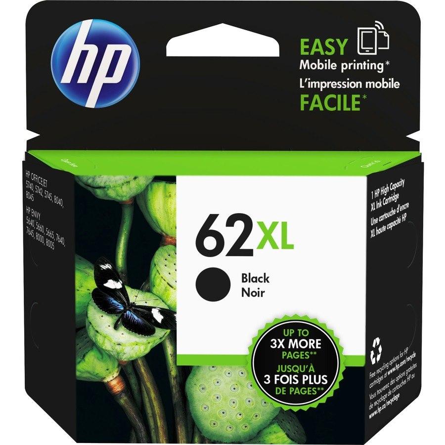 HP 62XL Original Ink Cartridge - Black